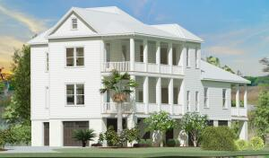 High-end proposed construction, executive home