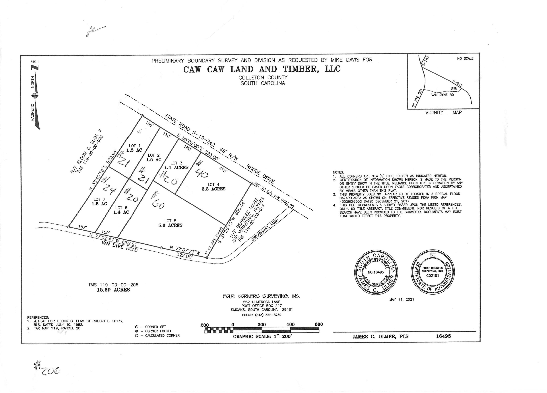 1 Van Dyke Rd Road Cottageville, SC 29435