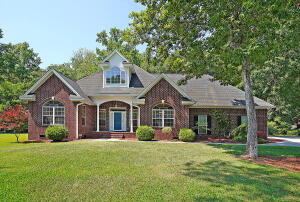 This executive style home with a stunning brick facade can be found in the established community of Ashborough East. Conveniently located near shopping, dining, major roadways, and in the highly sought after Dorchester II School District! As you enter this beautiful home you are greeted by soaring ceilings, and a desirable split floor plan that is filled with large windows to flood the home with an abundance of natural light. A remodeled sunroom with a wet bar and a charming sliding barn door entrance will be the perfect place to relax. The remodeled kitchen features gorgeous countertops, recessed lighting, a breakfast bar, and new stainless appliances. The spacious Master offers a relaxing ensuite bath with dual vanities, soaker tub, and a water closet. Two additional bedrooms are generous in size and share access to a full hall bath. The FROG (with its own private bath) is the 4th bedroom, but this would also make a perfect media/game room, home office, or guest suite! Other updates include new carpeting all of the bedrooms, and 1 of the 2 HVAC systems new in 2018! The attached 2 car garage offers 2 large closets for storage, a utility sink, and painted floor. The home is nestled on a grand 0.91 acre cul-de-sac lot that is filled with professional landscaping and idyllic Japanese Maples. The backyard is surrounded by a NEW fence and mature trees for added privacy. You can enjoy your new haven from the back deck perfect for grilling out or soaking in the sun. This home is a true pleasure to show and a rare find in this highly desirable community! Ashborough East amenities include a neighborhood pool, tennis courts, volleyball court, basketball court, play park, walking trails, and available boat/RV storage. Come see your new home today!!