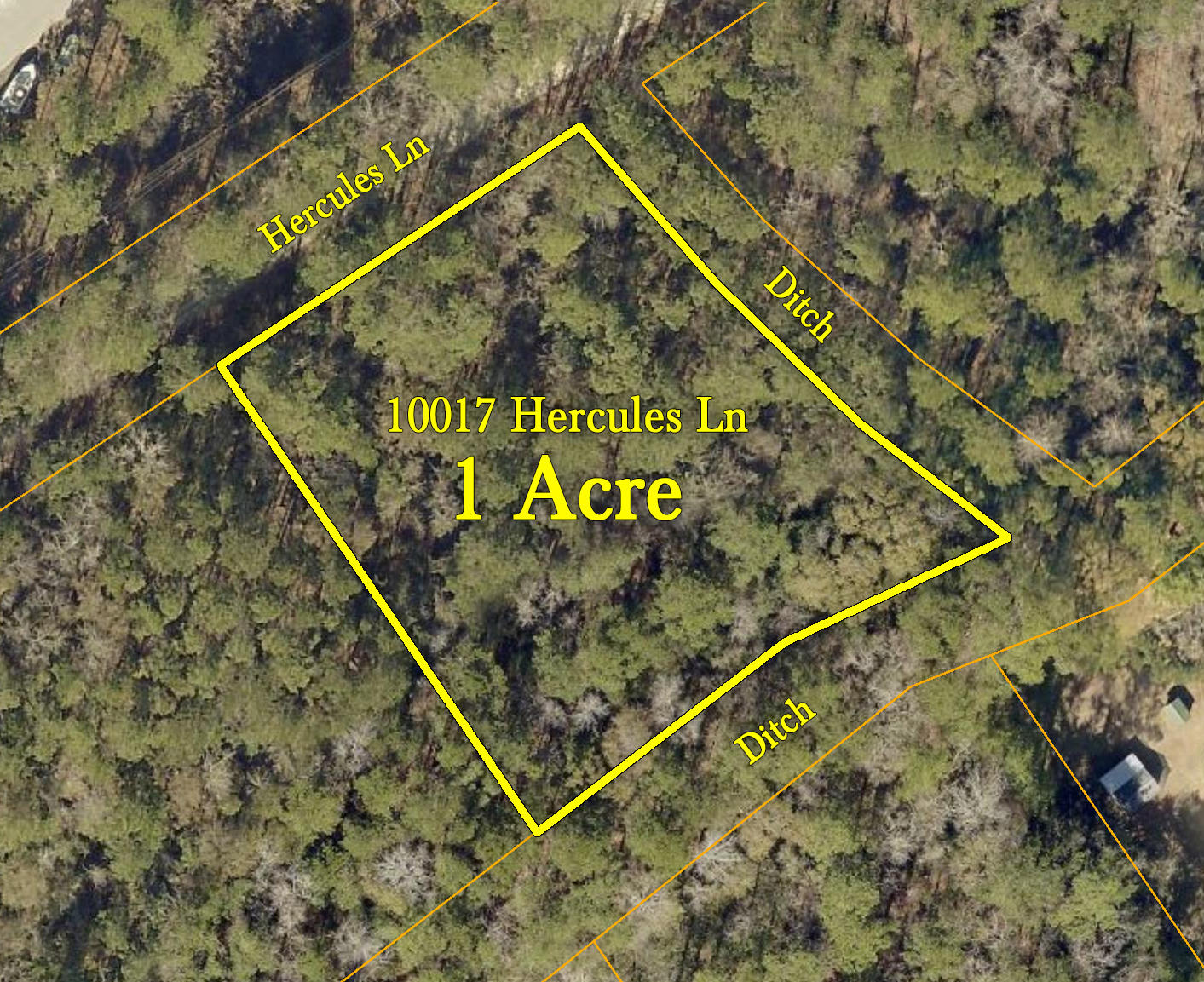 Freshly under-brushed 1-acre lot with brand new survey and 4-bedroom septic permit in hand.  Located in the quiet Silver Hill community of the Town of McClellanville just a few minutes to the shops and restaurants on Hwy 17 and the Historic District. Property also enjoys close access to the Francis Marion National Forest and the Cape Romain Wildlife Refuge via the town's boat landing. This property is also just a 1/2 mile to Cape Romain Environmental Education Charter School (CREECS) which serves grades 4K-8th. For those who don't want to climb stairs, this home is located in an AE 11 flood zone with a ground elevation of approximately 11 feet, so your home may be build on a low crawlspace or even a raised slab rather than the raised pier construction. No mobile homes allowed.