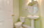 Powder room for guests