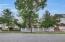 Newport style cedar picket fence