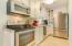Full kitchen in Unit B