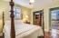 Bedroom 1 has bamboo flooring