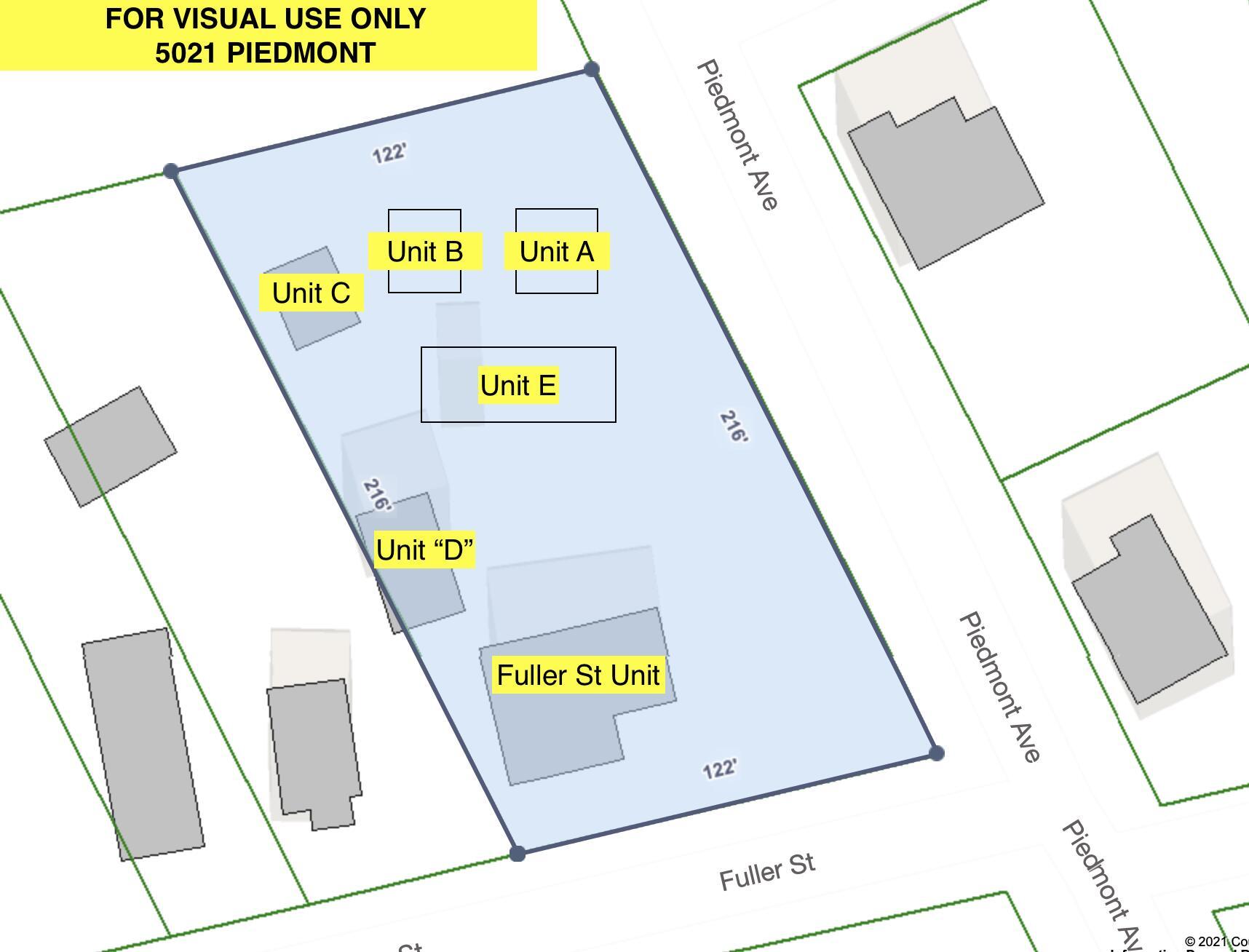 5021 Piedmont Avenue UNIT A, B, C, D, E, & Fuller St North Charleston, SC 29406
