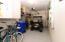 Primary level garage