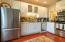 Third level kitchen