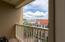 Fourth level balcony