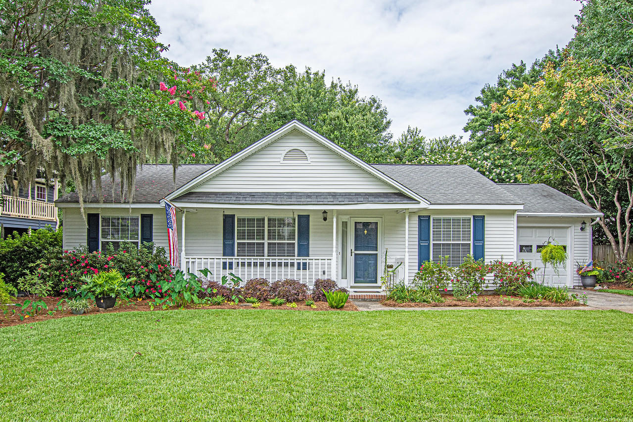This charming one story home is located in the popular Mt Pleasant subdivision of Longpoint!This home was built in 1991, has had one owner and has been meticulously maintained over the years.  The original footprint of the house features 3bd/2baths with living room, dining area, beautiful double sided wood burning fireplace and a nice size kitchen with an eat in area. There is a sunroom addition with beautiful windows, tons of natural light and tile flooring.  The bathrooms have been nicely updated with the master featuring a walk in shower. There are engineered hardwood floors through out and the home has been freshly painted on the interior.  The yard is fantastic and it has always been kept in immaculate shape. The back yard is private, shady and can be fenced in!