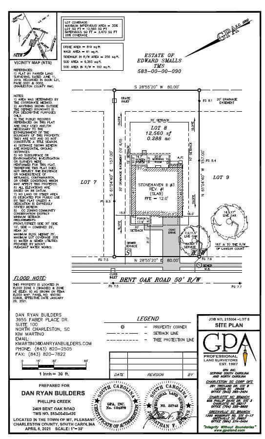 Phillips Creek Homes For Sale - 2409 Bent Oak, Mount Pleasant, SC - 0