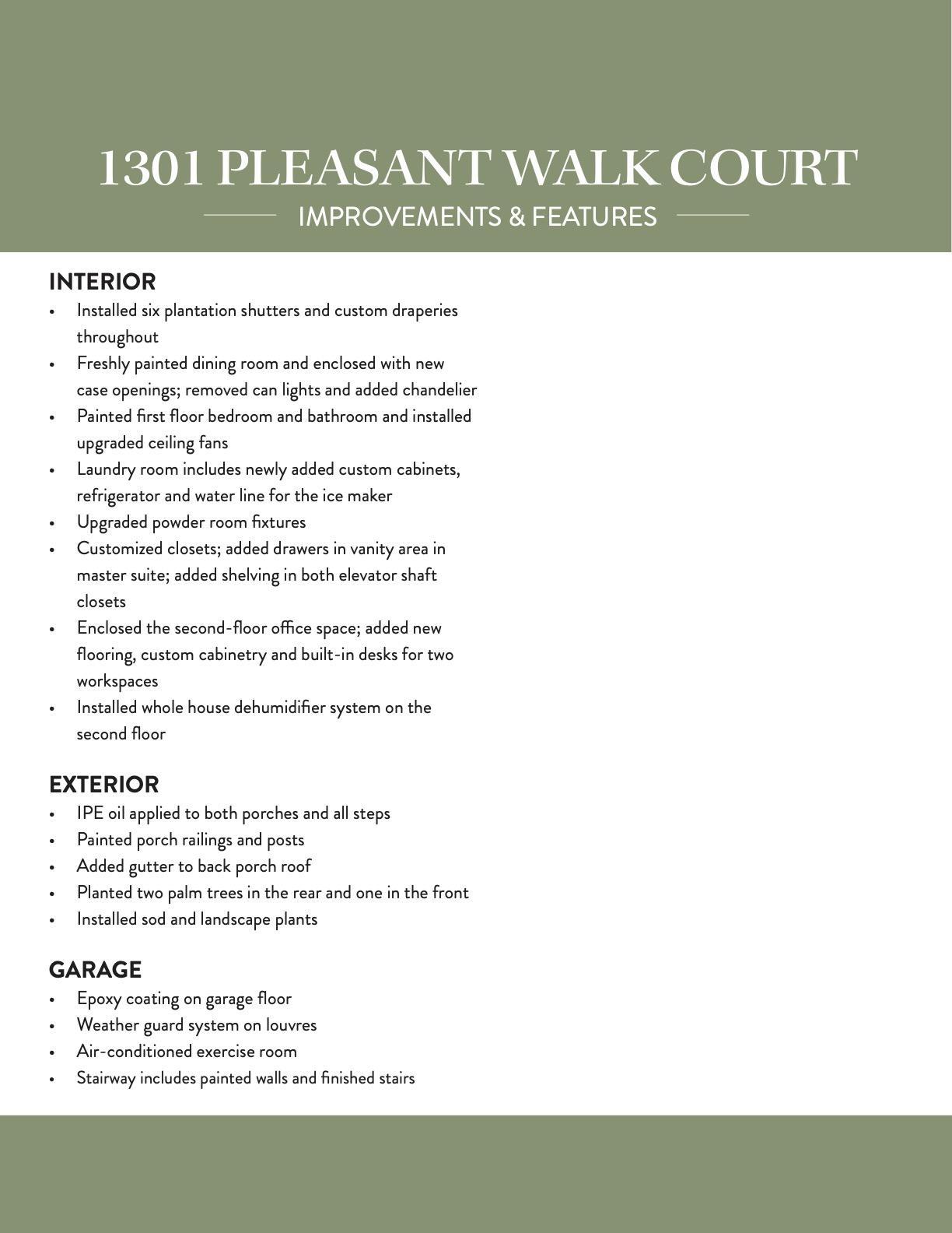 Hamlin Plantation Homes For Sale - 1301 Pleasant Walk, Mount Pleasant, SC - 1