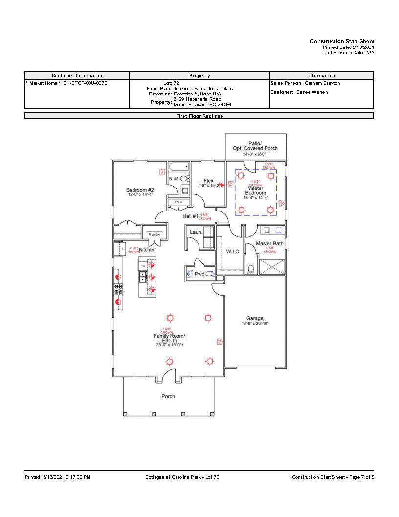 Carolina Park Homes For Sale - 3499 Habernaria, Mount Pleasant, SC - 1