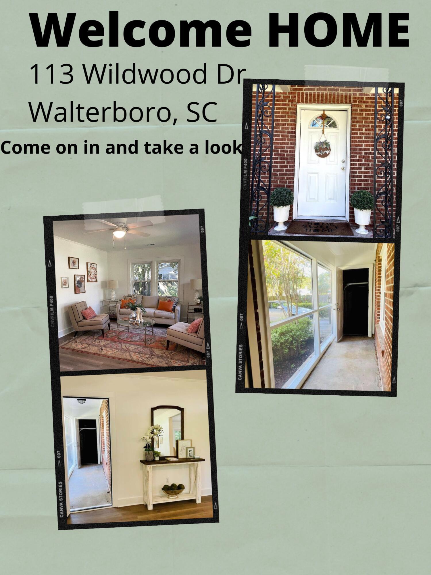 113 Wildwood Drive Walterboro, SC 29488