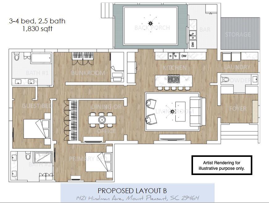 Old Mt Pleasant Homes For Sale - 1421 Hindman, Mount Pleasant, SC - 11