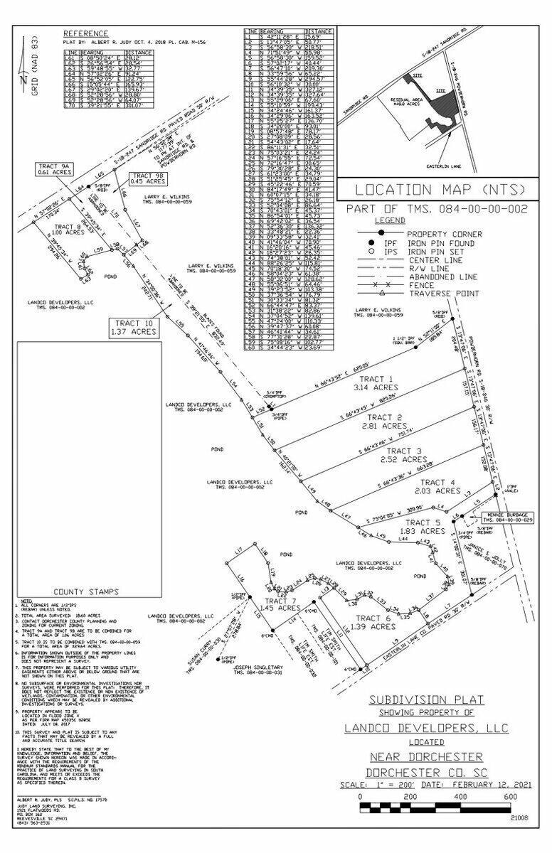 Powder Horn Road UNIT Tract 8 Dorchester, SC 29437
