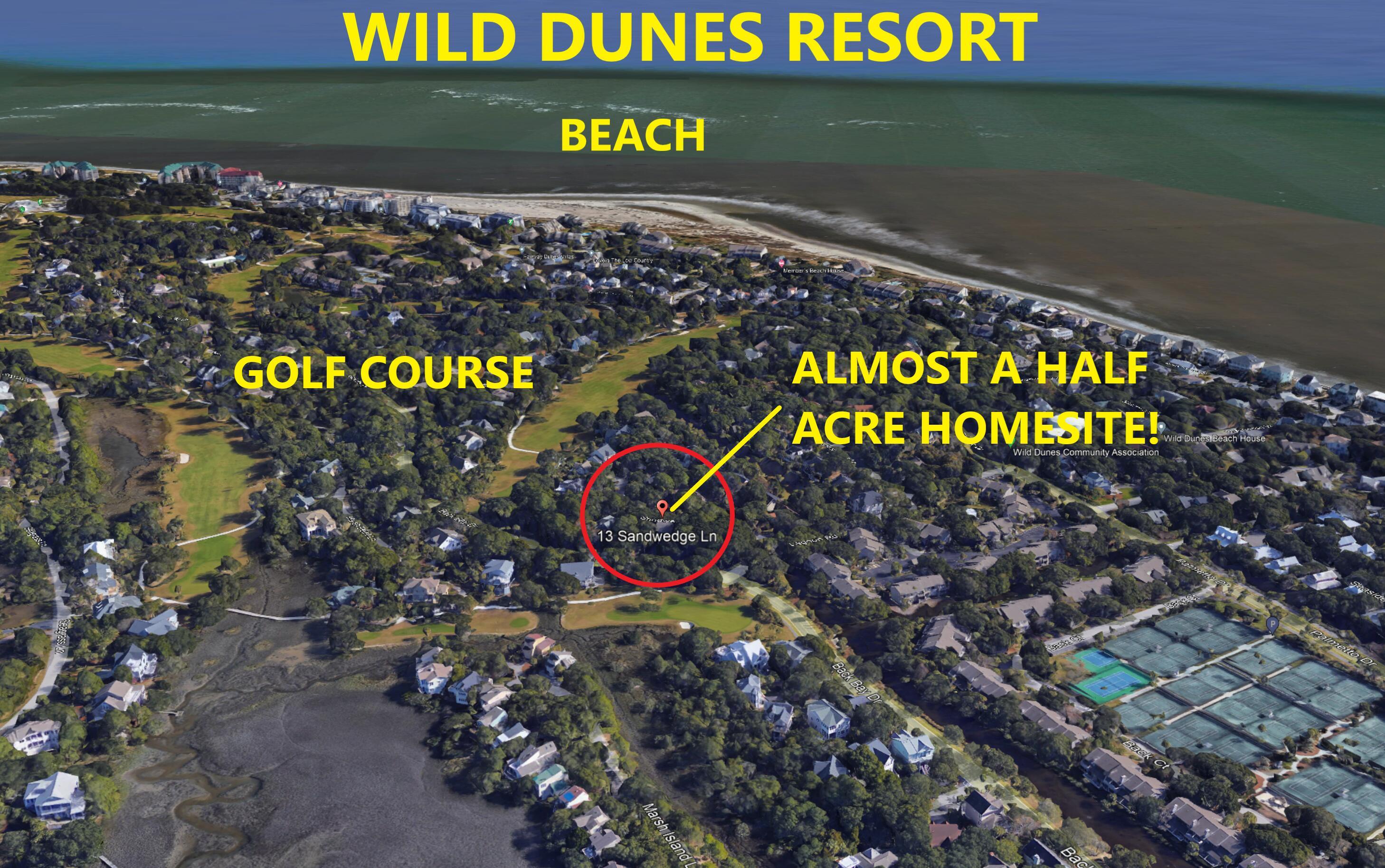 13 Sandwedge Lane Isle Of Palms, SC 29451