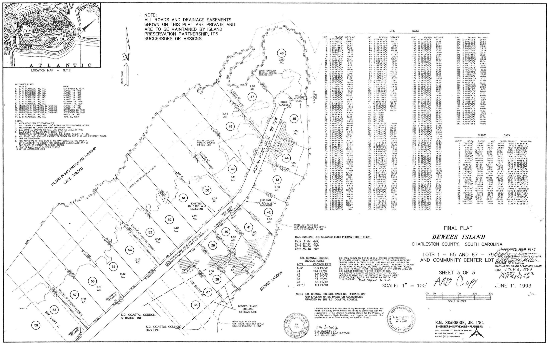 428 Pelican Flight Drive UNIT Lot 47 Dewees Island, SC 29451