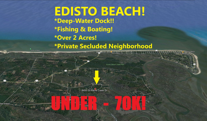8450 St Pierre Creek Drive Edisto Island, SC 29438