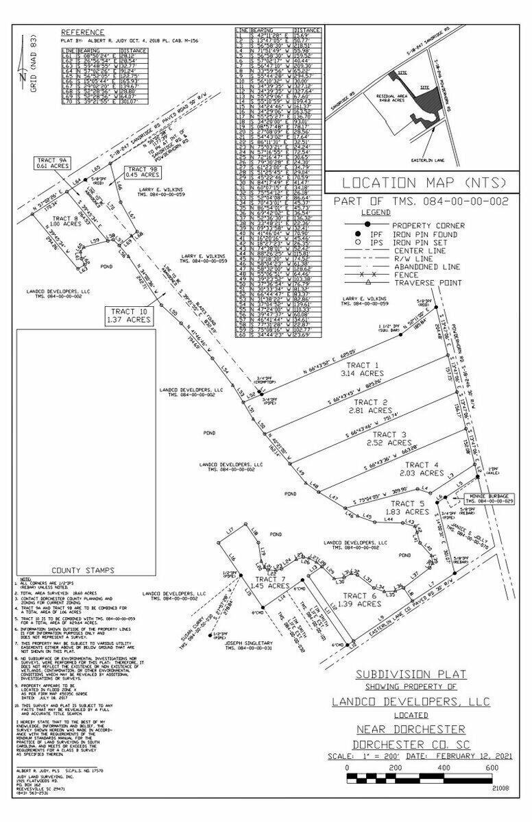 Powder Horn Road UNIT Tract 9 Dorchester, SC 29437