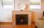 LR GAS FIREPLACE WITH CUSTOM TILING
