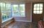 Large windows flood home with natural light