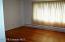 Wonderful wood floor in large bedroom
