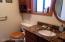 Main Floor Shower Bath - Granite Counter