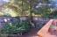Corner of Fenced Front Yard & Deck