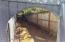 West Side Yard - View Through Backyard Gate