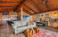 Easy to entertain with open kitchen/dining/living area and access to big covered deck.