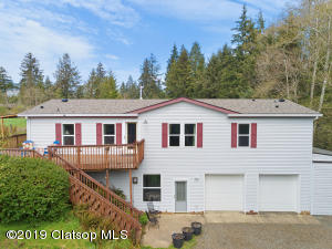 Big 2548 square foot home on 1.99 acres. Room to stretch out and relax inside and out!