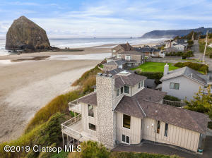Unparalled 180 degree+ Views of Haystack Rock & the Coastline