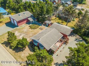 Aerial of House-Garage-Yard-RV Garage/Shop