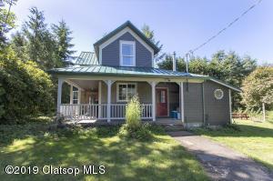 This circa 1910 Farmhouse has an inviting front porch.