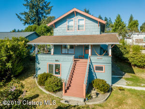 Enjoy morning sunrise over the Coast Range from the covered porch, upper bedroom, or living room of this beautifully remodeled Classic Craftsman.