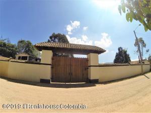 Casa En Ventaen Tabio, Vereda Rio Frio, Colombia, CO RAH: 19-502