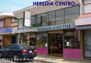 Local Comercial En Ventaen Heredia Centro, Heredia, Costa Rica, CR RAH: 17-886