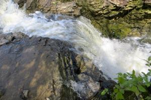 Beautiful views and privacies with ravines, stream and waterfalls