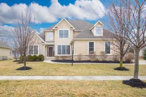 Welcome home to 6675 Baronscourt Loop in Dublin, Ohio