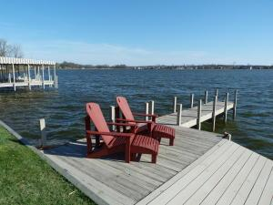 This dock allows for easy launch of your jet skis or kyaks!
