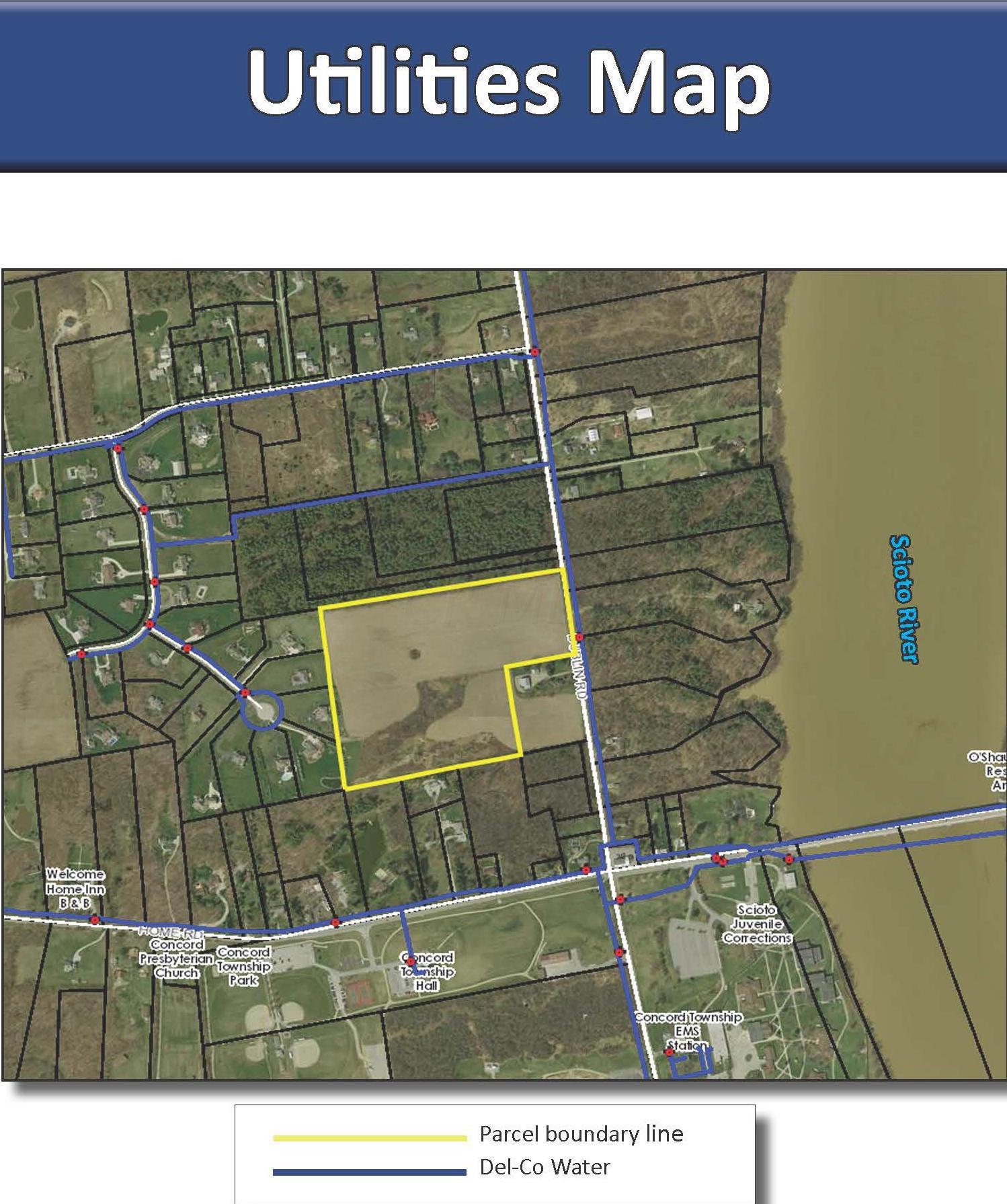 Utilities Map