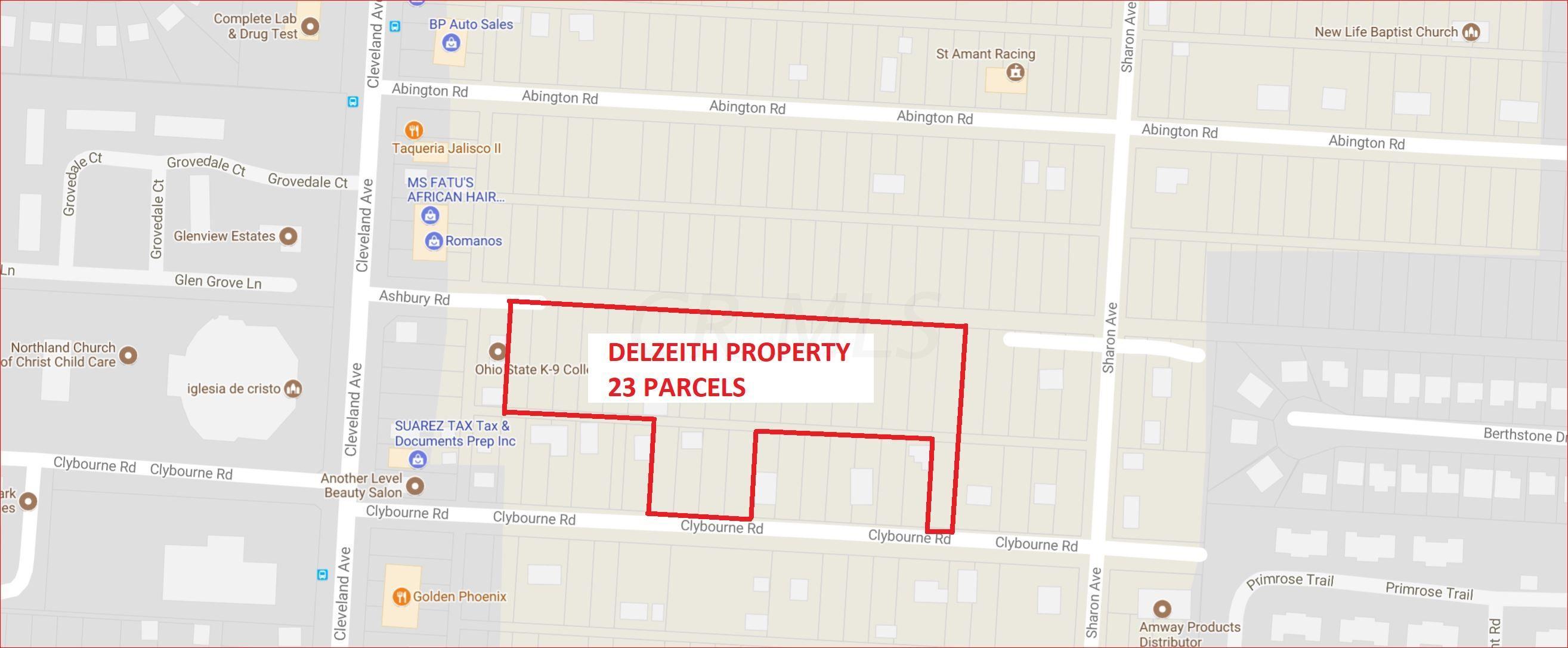Clybourne & Ashbury Rd. MAP