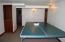 "Ping pong anyone? Room measures 16'1"" X 10'9"""