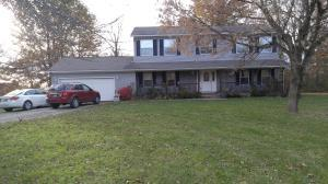 Sitting on 1.077 very private acres, full basement and backs up to water that you can walk to