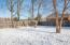 HUGE double lot with privacy fence!