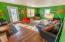 Sunken family room