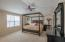 Vaulted ceiling with ceiling fan/light combo