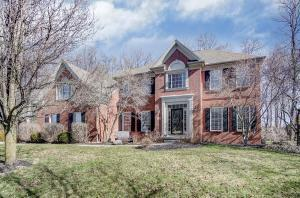 Stunning home located on .59 acre, treed, cul de sac lot.