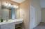 Vanity in master suite!