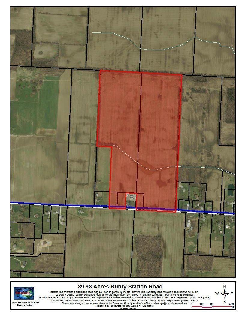 0 Bunty Station Road, Delaware, Ohio 43015, ,Land/farm,For Sale,Bunty Station,218004016